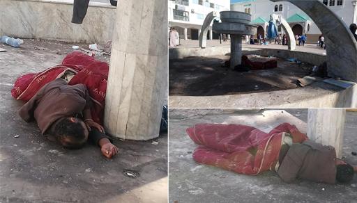 بالناظور.. مسجد أدى فيه ملك البلاد فريضة الصلاة مرارا.. أصبح مأوى للمشردين والمختلين عقليا