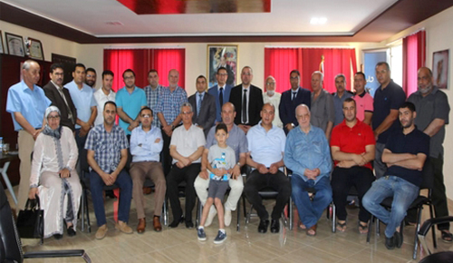 وسط حضور وازن.. تكريم باشا مدينة ميضار مبارك آيت سكو تقديرا لمجهوداته  طيلة 8 سنوات بالمدينة