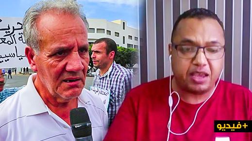 الغزيوي :نشطاء الحراك هددوا بالنزول بالأباتشي والدبابات.. الزفزافي يرد: تتحدث كبوليسي وكأنك في مقر الشرطة