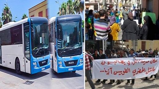 لجنة بالعروي تدعو للتحقيق مع الواقفين وراء عرقلة عمل النقل الحضري وتحصين الحافلات الجديدة