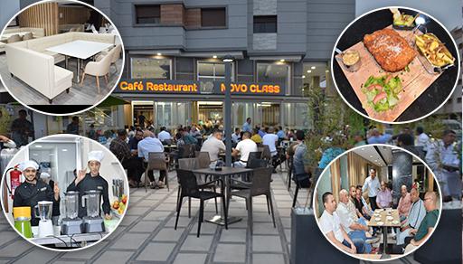 """إفتتاح مقهى """"نوفو كلاص"""" الفخمة بالناظور بتجهيزات عصرية وخدمات متميزة بحي السعادة بالناظور الجديد"""