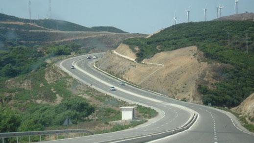 """تحويل مؤقت لحركة السير من الحسيمة إلى تازة عبر طريق """"بوعرما"""""""
