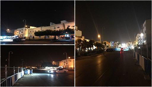 شارع رئيسي وحيوي وسط بني أنصار غارق في ظلام دامس والساكنة متخوفة من تفاقم الجريمة