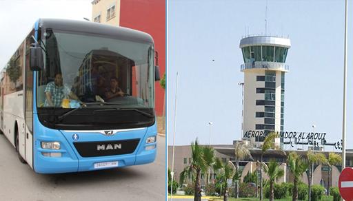 أفراد من الجالية يستغربون عدم تخصيص خط للحافلات الحضرية بين مطار العروي والناظور