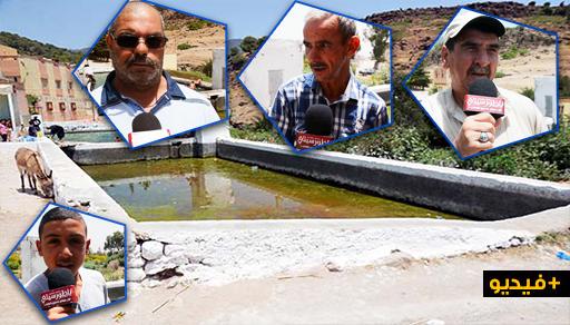 منبع إسكاجن بأزغنغان.. مصدر للحياة و متنفس طبيعي للهروب من حرارة الصيف