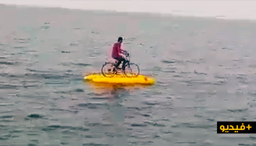 شاهدوا.. الدراجة المائية تثير فضول الناظوريين لأول مرة بالكورنيش