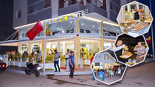 """افتتاح مقهى """"توينز آيس"""" الفاخرة بالناظور بتجهيزات عصرية وفضاءات راقية وجودة خدمات عالية"""