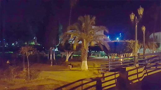 """حديقة """"لالة عائشة"""" بأزغنغان تتحول إلى مرتع للشماكرية بسبب الإهمال و سوء التدبير"""