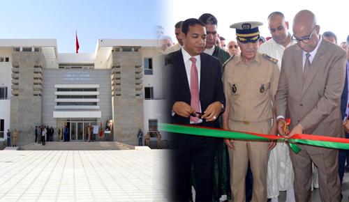 احتفالا بذكرى عيد العرش.. رشدي يشرف على افتتاح المقر الجديد لعمالة الدريوش وسط حضور وازن