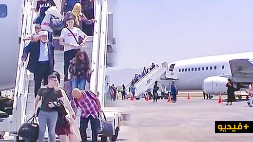 بالفيديو.. الجالية المقيمة بالخارج تنعش حركة المسافرين بمطار الشريف الإدريسي بالحسيمة