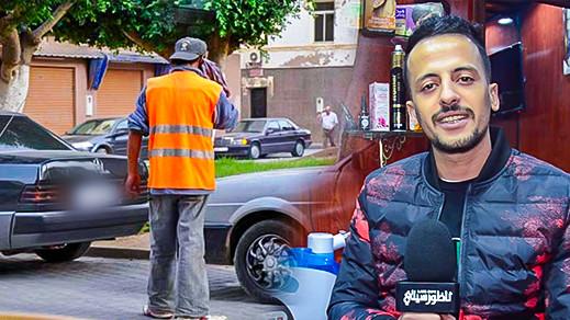 """حارس سيارات يعتدي على """"الحلاق الناظوري"""" ويصيبه بجروح دامية قبل نجاته من ضربة خطيرة بسكين"""