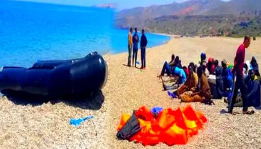 الدريوش.. درك بني سعيد يحبط محاولة هجرة أزيد من 40 مهاجرا ضمنهم نساء من شاطئ أمجاو