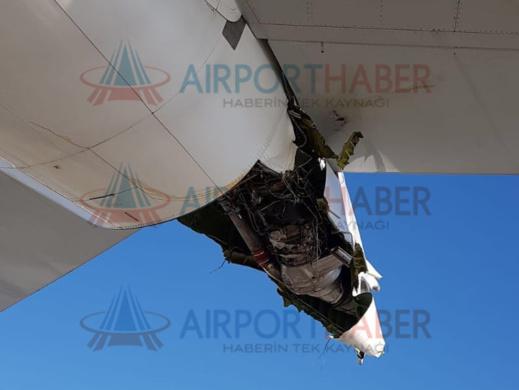 شاهدوا.. اصطدام طائرة الخطوط الملكية المغربية بأخرى تركية في مطار أتاتورك