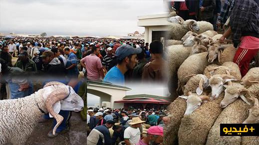سخط شعبي على الاختناق المروري في مدخل سوق بني وكيل بالعروي