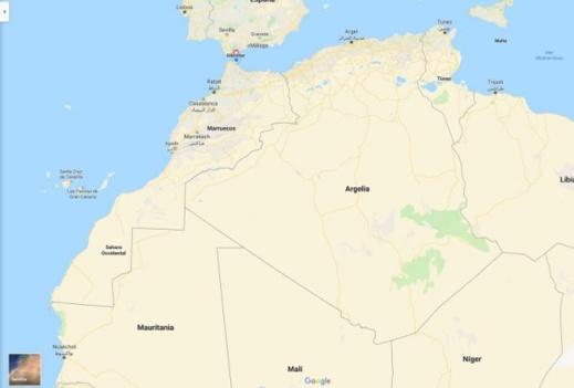 غوغل تعترف بمغربية سبتة ومليلية وتلغي الحدود الوهمية في خرائطها