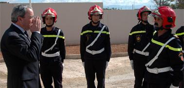 تدشين ثكنة الوقاية المدنية بزايو يخلف إرتياحا كبيرا لدى المواطنين بالمنطقة