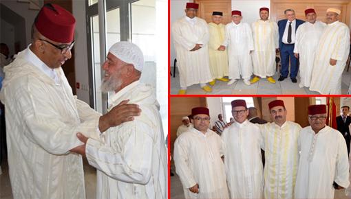 عمالة الدريوش تقيم حفل اِستقبال بمناسبة عيد الأضحى المبارك على شرف فعاليات الإقليم