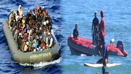 الدريوش.. الوقاية المدينة تنقذ مهاجرين سريين بشاطئ الكبداني تاهوا وسط البحر منذ يومين