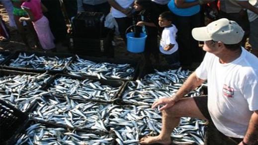 """بيع السمك خارج سوق """"الدلالة"""" من طرف التجار الوافدين على ميناء الحسيمة تثير استياء المهنيين"""