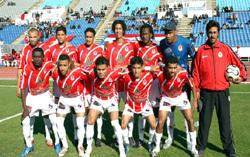 الفتح الرباطي المغربي يتوج بطلا لمسابقة كأس الاتحاد الافريقي لكرة القدم