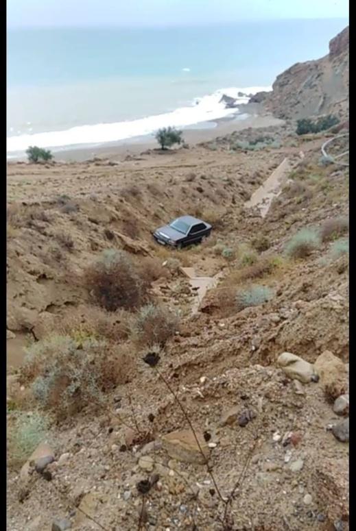 إنزلاق المنعرجات بسبب الأمطار تتسبب في 3 حوادث سير على الطريق الساحلية
