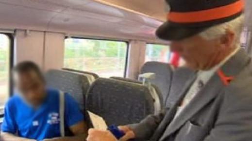 مراقب  يتلقى طعنة بالسلاح الأبيض من طرف مهاجر لم يؤدي تذكرة القطار ببلجيكا