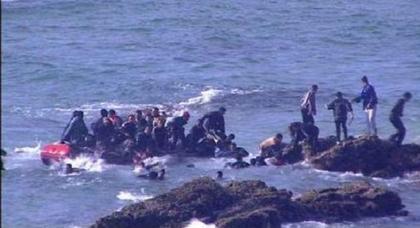 إحباط محاولة للهجرة السرية بشاطئ أسواني والسلطات تشدد الخناق على المهربين بحزام أمني بحري