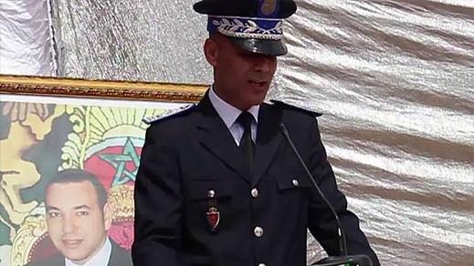"""تنقيل """"بوعبو"""" من مفوضية الأمن ببني أنصار وتعيينه رئيسا للمنطقة الإقليمية للأمن في بركان"""
