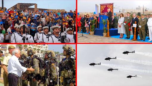 وسط إنزال عسكري استفزازي للمغرب.. إسبانيا تحتفي بالذكرى الـ 521 لاحتلال مليلية