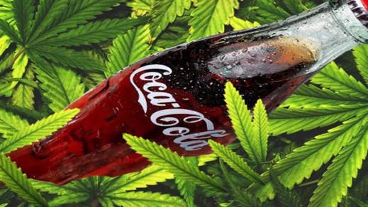 غريب.. كوكا كولا تصدر مشروبا جديدا بنكهة الحشيش