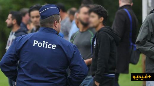 بلجيكا…القبض على 24 مهاجرا غير شرعي في بروكسل