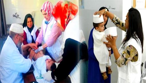 مؤسسة بسمة للأعمال الخيرية بوجدة تنظم حملة ختان مجانية لفائدة الأطفال