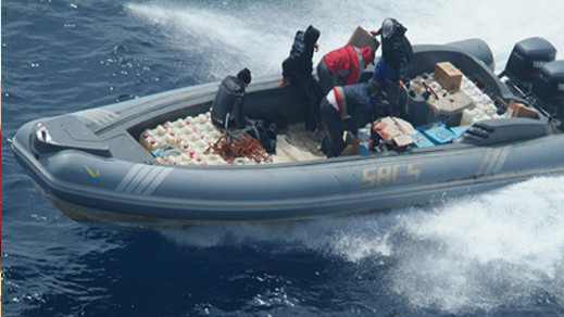 البحرية الملكية تطلق الرصاص على زورق مطاطي إسباني رفض الإمتثال لتحذيراتها وتصيب 4 أشخاص