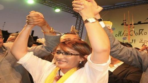البرلمانية الناظورية ليلى أحكيم مرشحة بقوة للظفر بمقعد داخل المكتب السياسي للحركة الشعبية