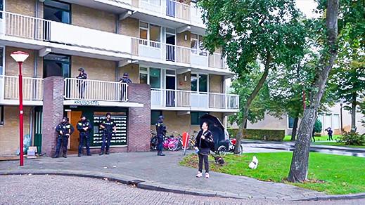 """صور.. الشرطة الهولندية تحاصر منازل المتورطين في جريمة """"لاكريم"""" بمراكش"""