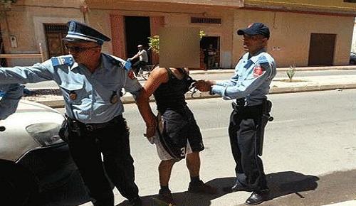 أمن الناظور يلقي القبض على لص يحترف سرقة المنازل والمحلات التجارية