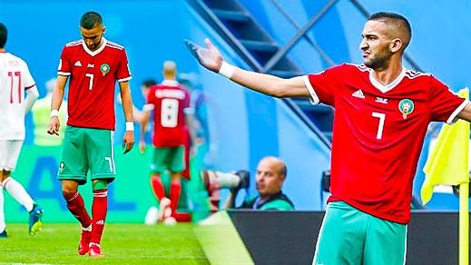 زياش أبرز الغائبين عن مباراة المنتخب المغربي ضد جزر القمر