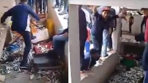 القضاء يُدين 9 متورطين في تخريب سوق للسمك بدعوى المقاطعة