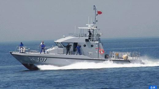 بينهم 15 امرأة.. البحرية الملكية تتدخل بعرض سواحل الناظور لإنقاذ مهاجرين من الغرق