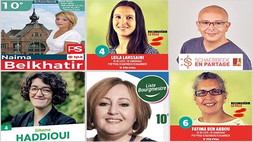 سكاربيك.. لائحة العمدة تتصدر انتخابات البلدية ببروكسل و 13 مغربي بالمجلس البلدي