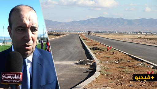 زرُّو يكشف موعد فتح المسلك الطرقي الجديد الرابط بين مدخل الناظور وكورنيش المدينة