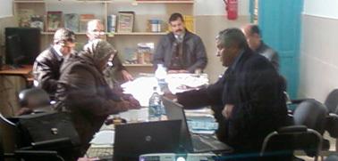 لقاء مجموعة عمل المنطقة التربوية الثانية (لوطا) بزايو للنهوض بالمنطقة والارتقاء بالعملية التعليمية التربوية