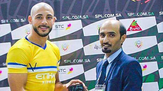 الريفي أمرابط ينال جائزة أفضل لاعب في الدوري السعودي