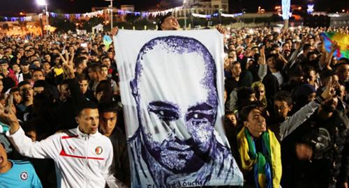 حراكيو ثامسينت يدعون إلى إحياء ذكرى مرور سنتين على مقتل سماك الحسيمة