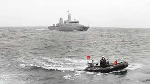 البحرية الملكية تقدم المساعدة لـ 16 مركبا على متنها 308 مهاجرا سريا