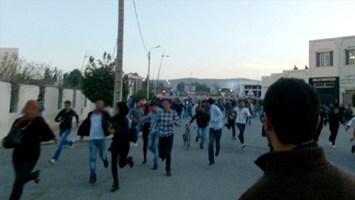 مواجهات عنيفة بين فصائل طلابية بجامعة محمد الأول بوجدة