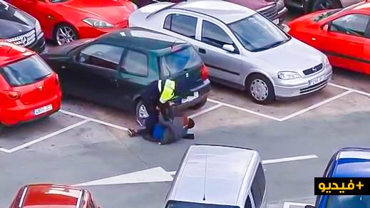 """حارس أمن بموقف للسيارات بميناء مليلية يشبع """"حراك"""" قاصراً ضربا وهيئات حقوقية تدخل على الخط"""