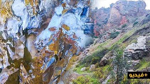 الكهف البارد بجماعة تليليت.. 7 كيلومترات من الأشكال والرسومات المبهرة نحتتها عوامل الطبيعة