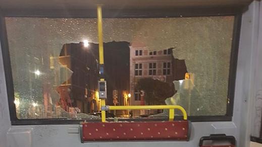 بلجيكا..حالة ذعر تنتاب ركاب حافلة في لييج بعد قذفها بالحجارة