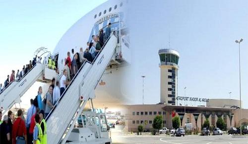 مطار العروي الناظور يسجل حوالي 543 ألف مسافر بمتم شتنبر المنصرم